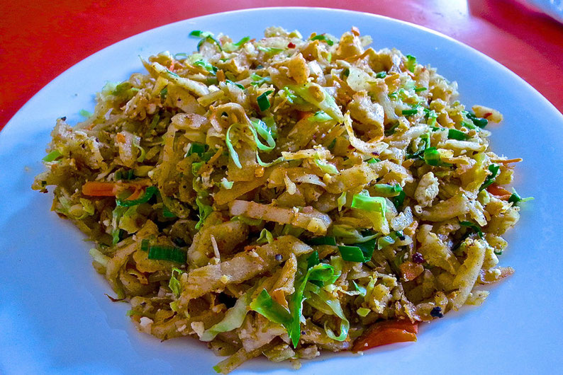 9 Days in Sri lanka - A Delicious Vegetarian Kottu in Galle