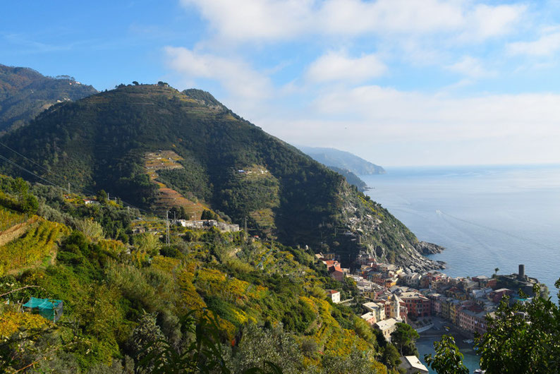 Hike the Cinque Terre - Mountainous Area