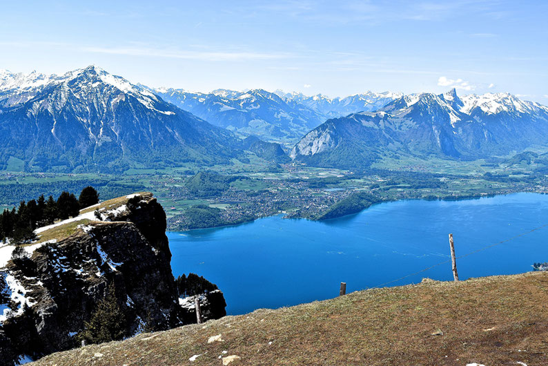 Panoramic views in Switzerland - Niederhorn