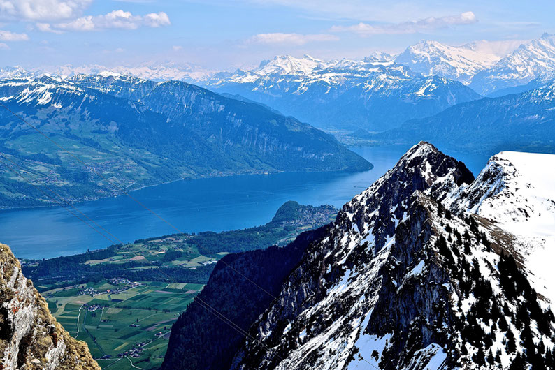 Panoramic views in Switzerland - Stockhorn