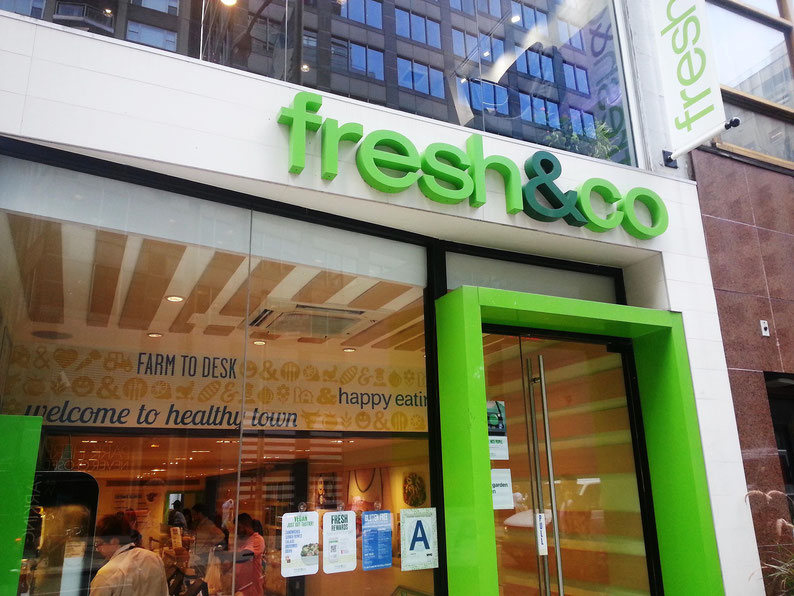 Have a quinoa salad at fresh&co