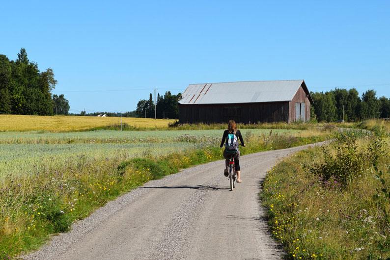 One of Our Short Breaks in Finland - Biking
