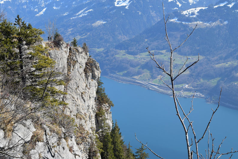 Meditation place at Walensee