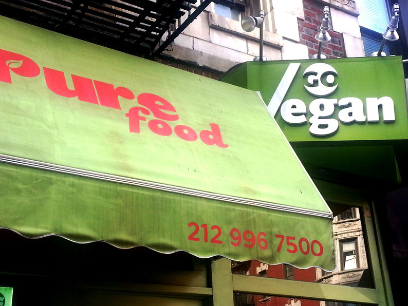 Pure Food-Go Vegan New York