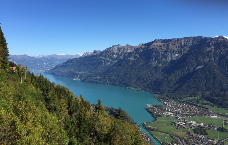 Hiking in Interlaken, Switzerland