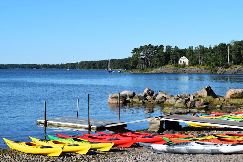 One of Our Short Breaks in Finland - The Starting Point of our Kayaking Tour with Natura Viva