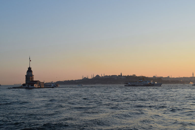 Sunset in Istanbul