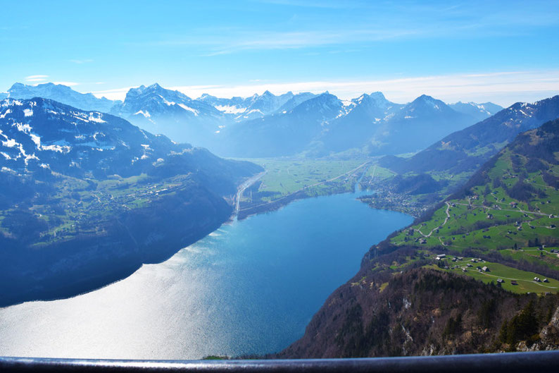 The most beautiful lakes in Switzerland - Walensee