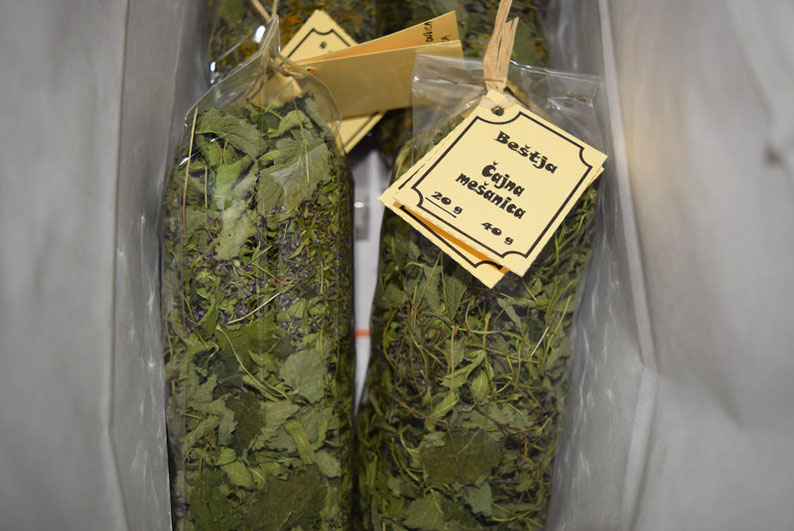 Herbal House Plave, Slovenia - Herbal tea as a gift