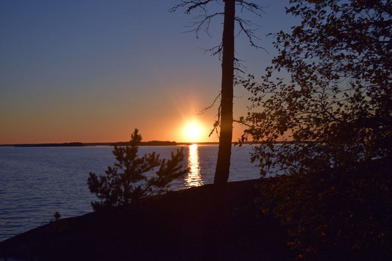 One of Our Short Breaks in Finland - Soaking up the Sunset over the Pellinki Island