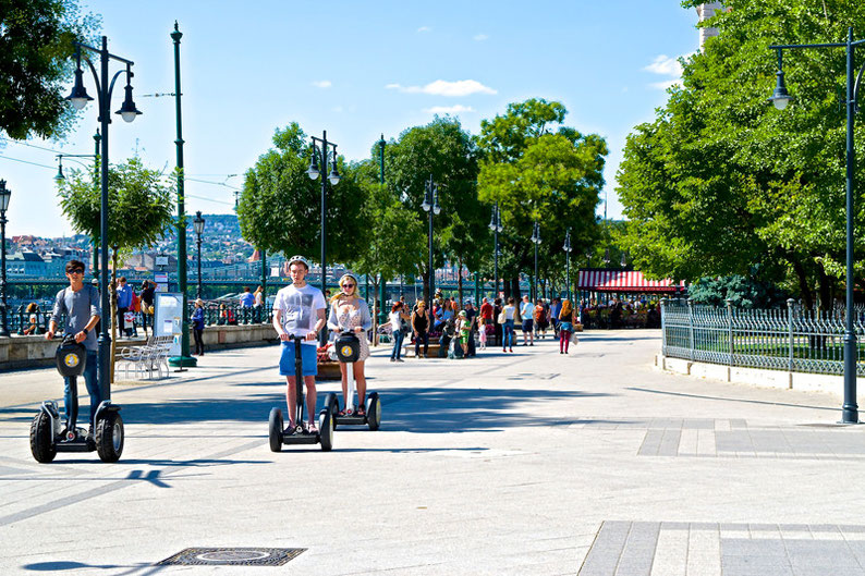 Budapest on a Weekend - Segway tour