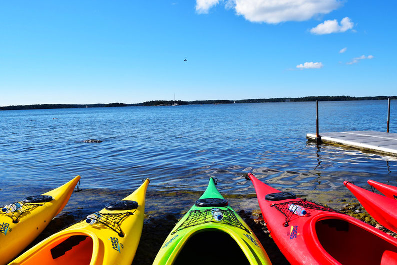 Kayaking in Finland - Time to start kayaking