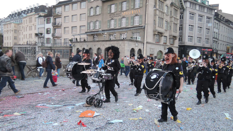 Carneval in Basel, Switzerland