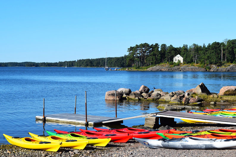Kayaking in Finland - The Starting Point