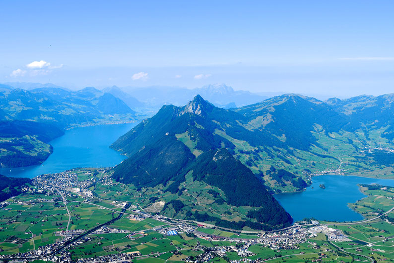 Panoramic views in Switzerland - Grosser Mythen