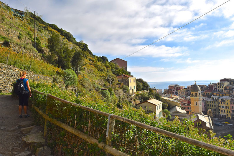 Hike the Cinque Terre - From Monterosso to Vernazza