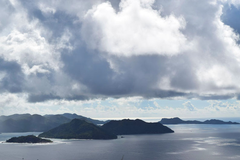 Get Seychelles' Best View at Nid d'Aigle - Misty view