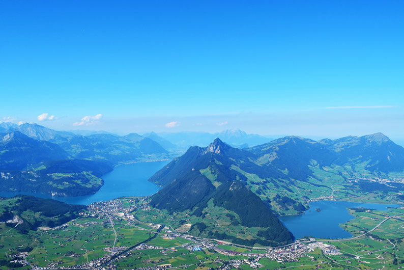 The most beautiful lakes in Switzerland - Vierwaldstättersee