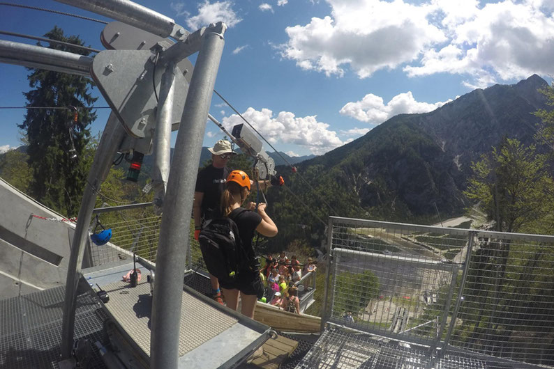 Summer Adventure Activities in Slovenia - Zipline in Planica