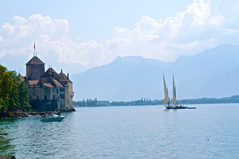 The most beautiful lakes in Switzerland - Lake Leman