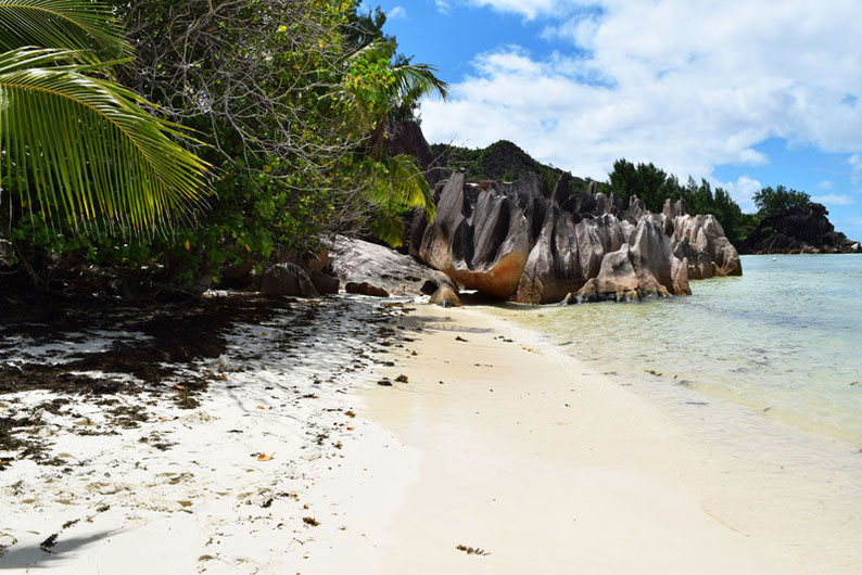 Our trip to the beautiful Seychelles islands - Beautiful beaches on Curieuse Island