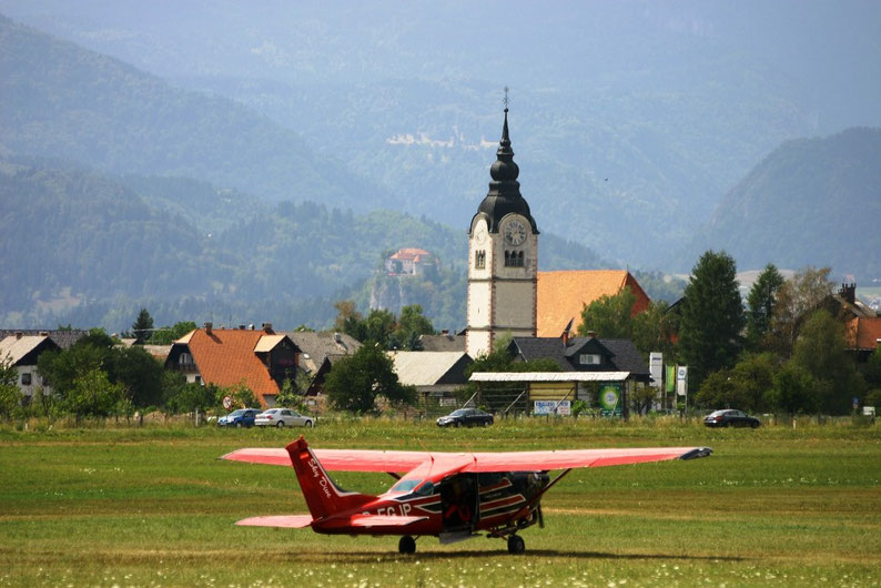Why Slovenia Should Be Your Next Destination - Tandem at Lesce Airport, Slovenia