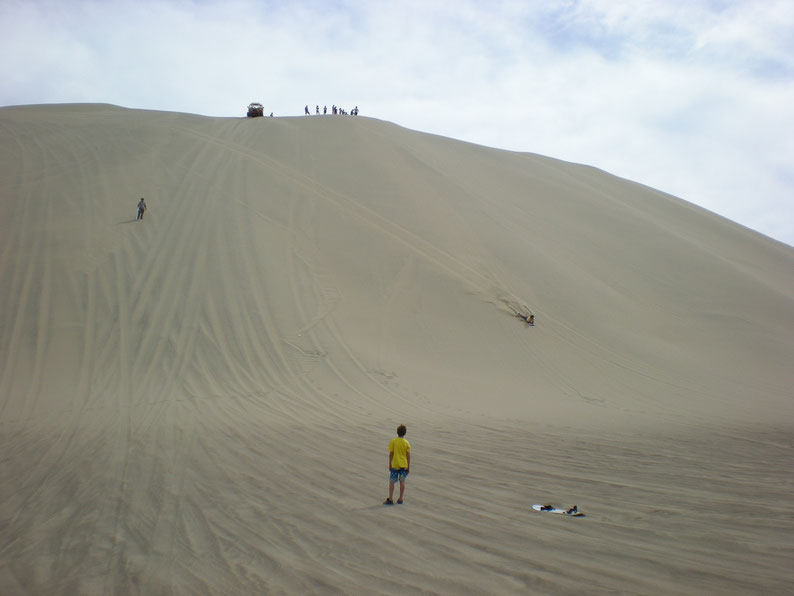 Peru and Bolivia in 3 weeks - Sandboarding, Huacachina