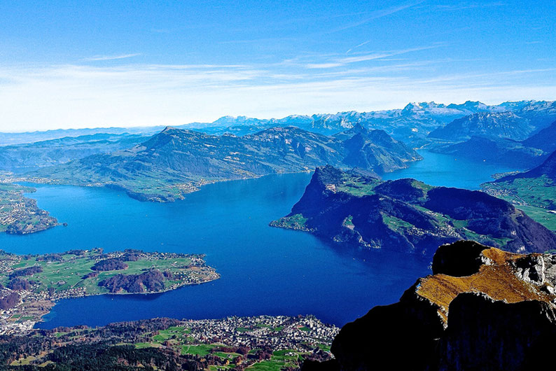 Top Panoramic Views in Switzerland - Pilatus