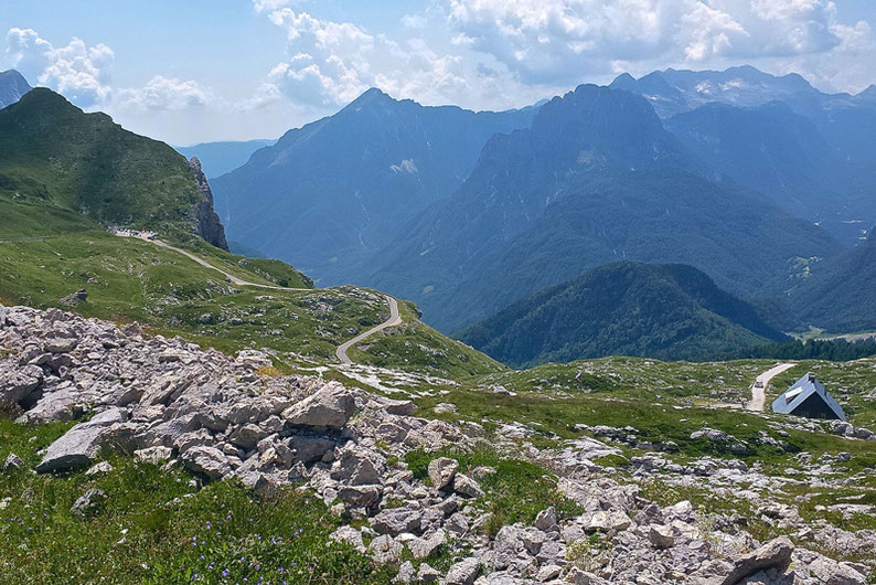Summer Adventure Activities in Slovenia - Cycling to the Peak of Mangartsko Sedlo