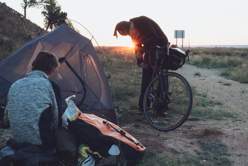 Biking Adventure in Spain - camping near Albacete