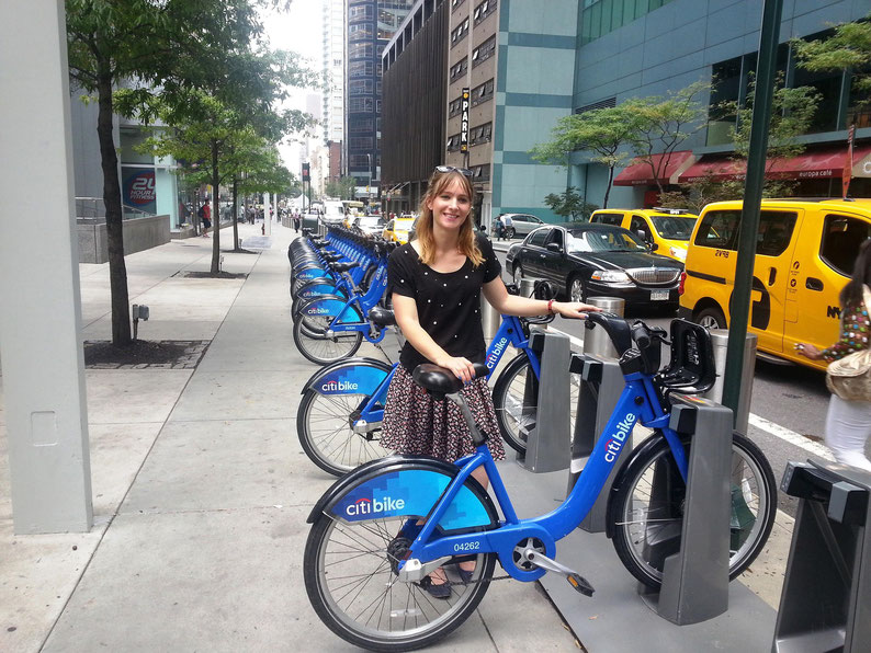 Biking in New York City (Citibike)