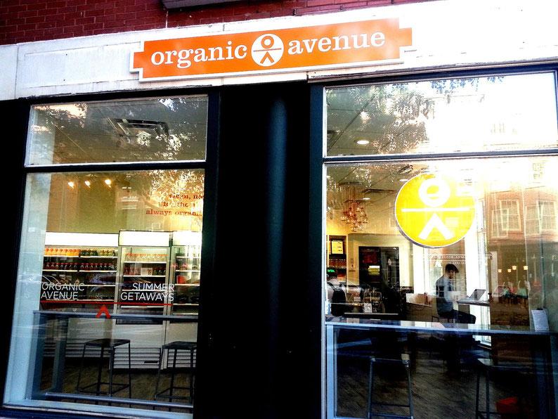 Organic Avenue at 515 Hudson Street