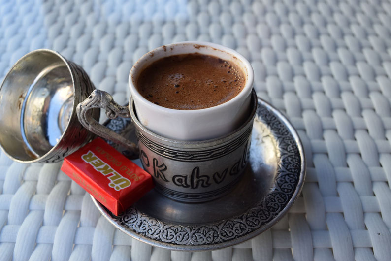Turkish coffee in Istanbul