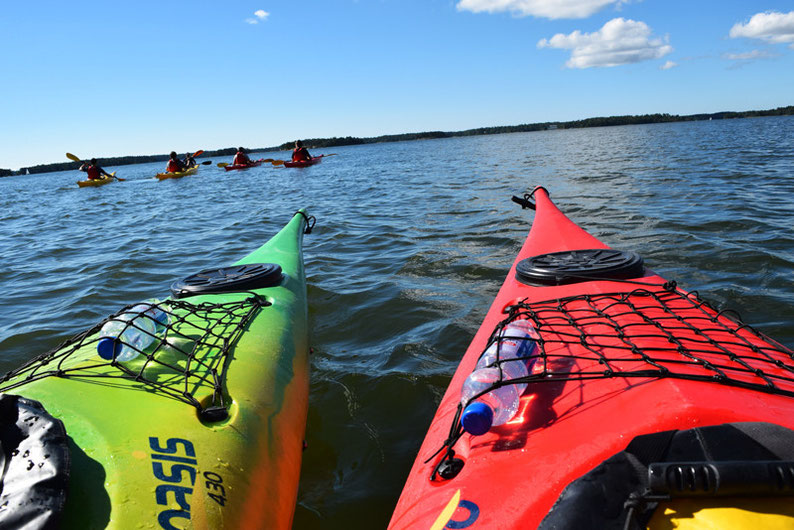 One of Our Short Breaks in Finland - Kayaking with Natura Viva