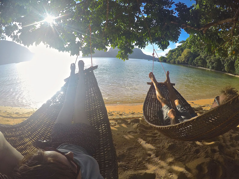 Quiet Place Away From El Nido - It's my hammock time :)