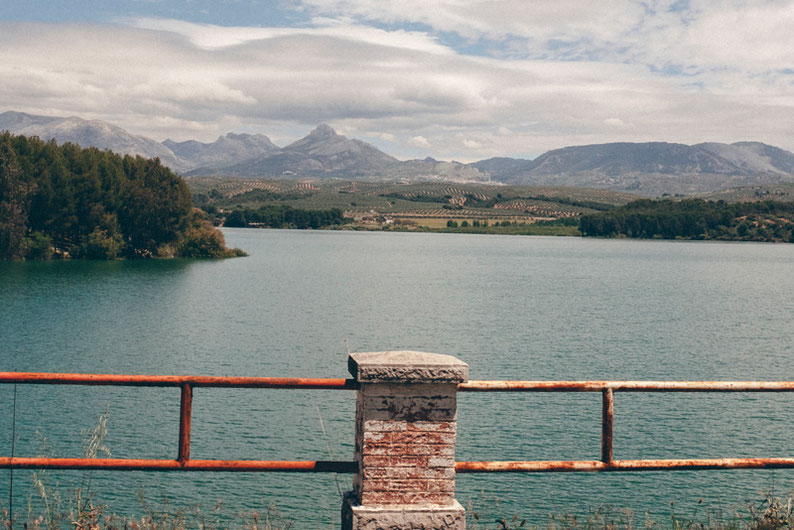 Biking Adventure in Spain - Embalse del Cubillas