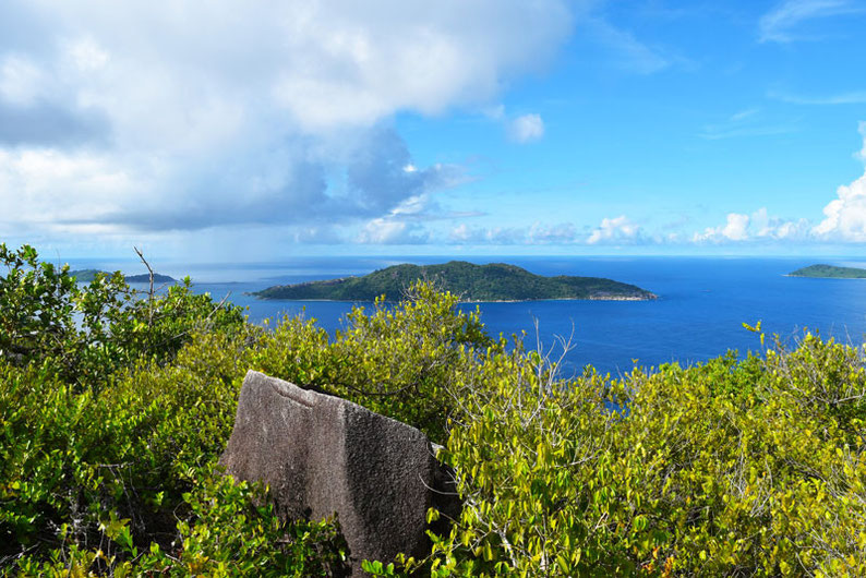 Get Seychelles' Best View at Nid d'Aigle - Fantastic view of the neighbour islands