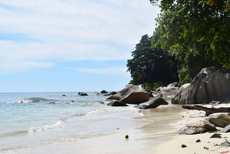 Our trip to the beautiful Seychelles islands - The Beau Vallon Beach in Mahe