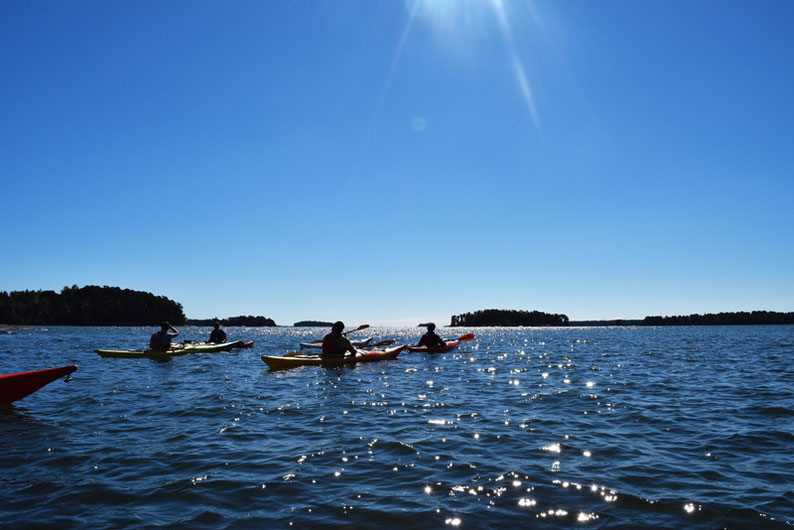 Kayaking in Finland - At the end of our tour