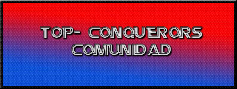 TOP-CONQUERORS OFICIAL - CELULAR +54 9 2964 561915