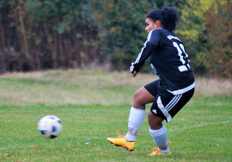 Erzielte das 2:0 zum Sieg über die SG Kinzenbach: FSG-Stürmerin Lisa Adao