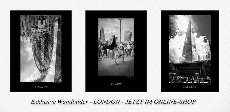Exklusive Wandbilder - Motiv London - Fotokunst jetzt im Online-Shop