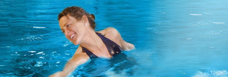 Damaris Dändliker AQUA Training - Kontakt und Anmeldung. aquafit-Kurse, Schwimmschule