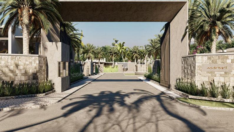 villa ultra contemporaine Mirari luxe ile maurice à grand baie