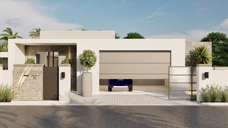 Villas très contemporaine le luxe grand baie par l'expérience MIRARI VILLAS ILE MAURICE
