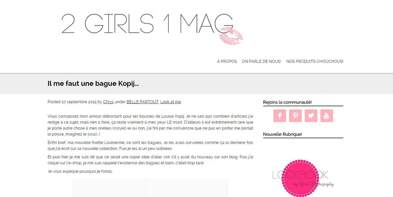 2 Girls 1 Mag || septembre 2015 || http://www.2girls1mag.com/il-me-faut-une-bague-kopij/