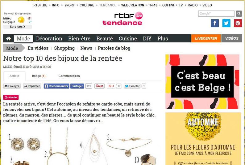 RTBF Tendance || aout 2015 || http://www.rtbf.be/tendance/mode/detail_top-10-des-bijoux-de-la-rentree?id=9064881