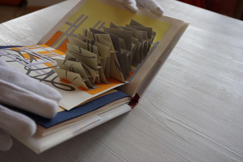 pop up, paper, artist book