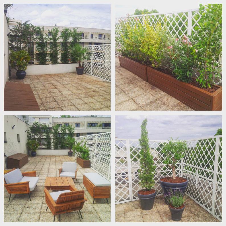 Aménagement de terrasse Paris