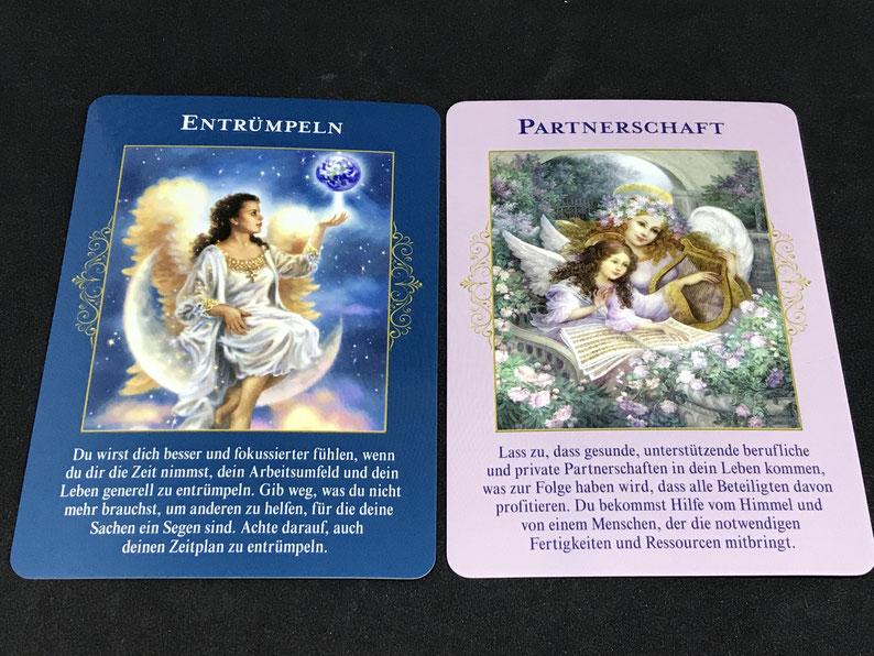 Das Orakel der himmlischen Fülle von Doreen Virtue auf Phönixzauber kostenlose Tagesbotschaften